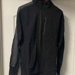 Lululemon jacket with grey accent